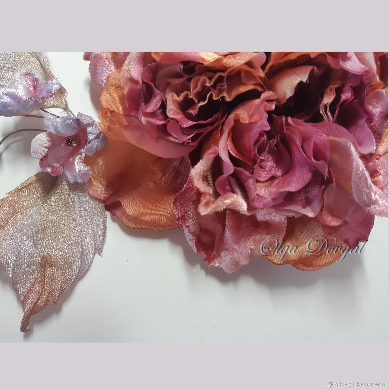 Rose-brooch Lilu, Brooches, Temryuk,  Фото №1