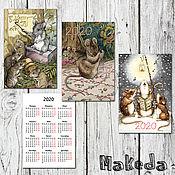 Календари ручной работы. Ярмарка Мастеров - ручная работа Календари: 2020. Handmade.