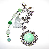 Сумки и аксессуары handmade. Livemaster - original item Keychain pendant for a bag or backpack 15 cm. Handmade.