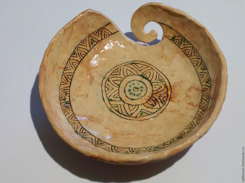 Bowl for knitting ornamental, Vases, Pokrov,  Фото №1