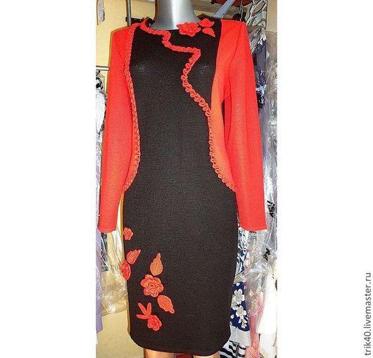 """Платья ручной работы. Ярмарка Мастеров - ручная работа. Купить Платье """"Нектар"""". Handmade. Коричневый, платье на каждый день"""