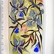 """Кулоны, подвески ручной работы. Ярмарка Мастеров - ручная работа. Купить Кулон """"Цветущее дерево"""". Лэмпворк. Handmade. Рисунок стеклом"""