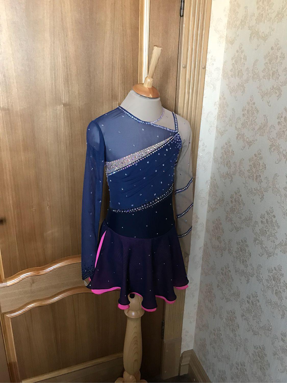Платье Сумерки для фигурного катания, Спортивные костюмы, Екатеринбург,  Фото №1