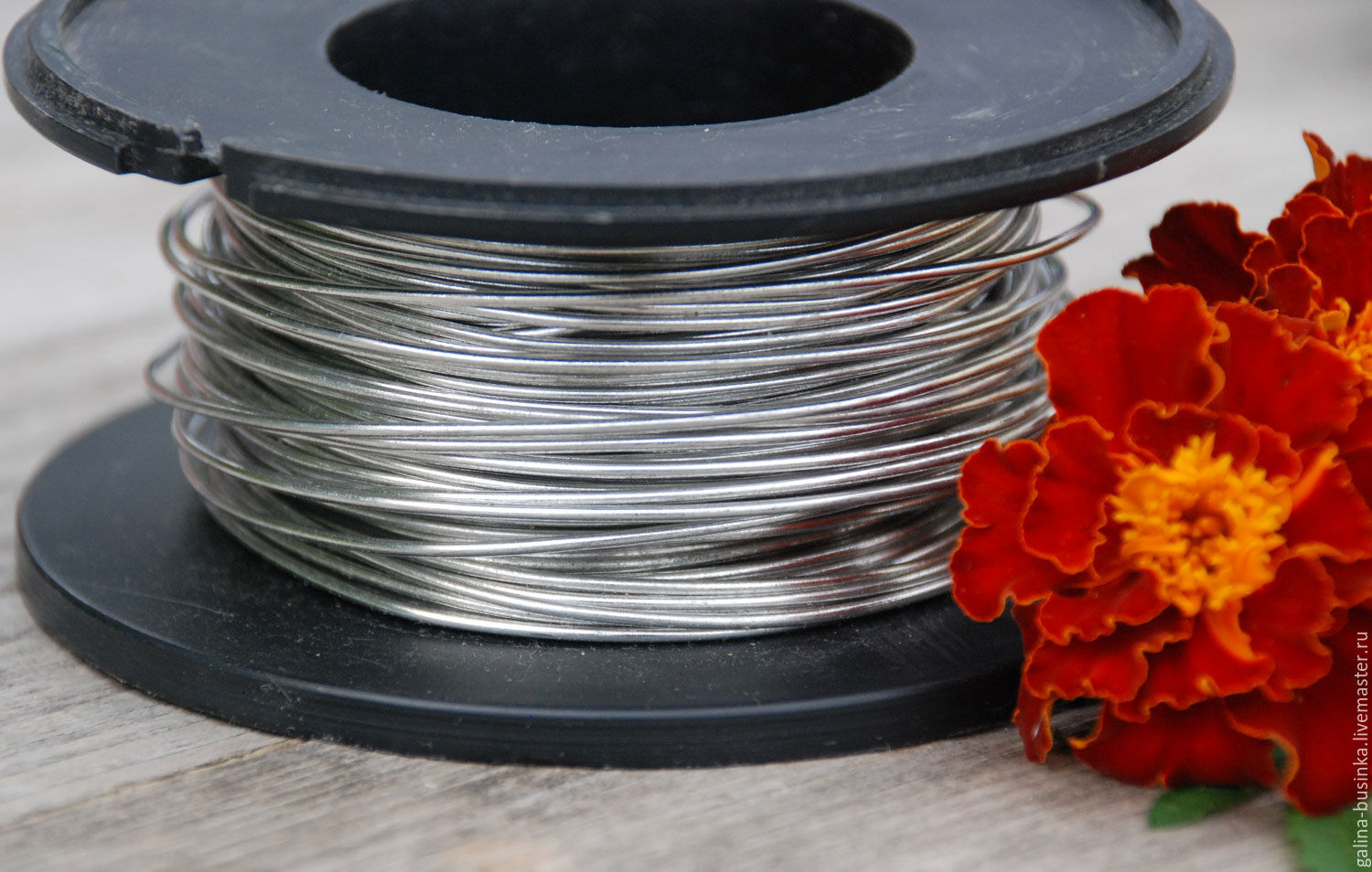1,0 mm copper Wire, silver, Wire, Moscow,  Фото №1