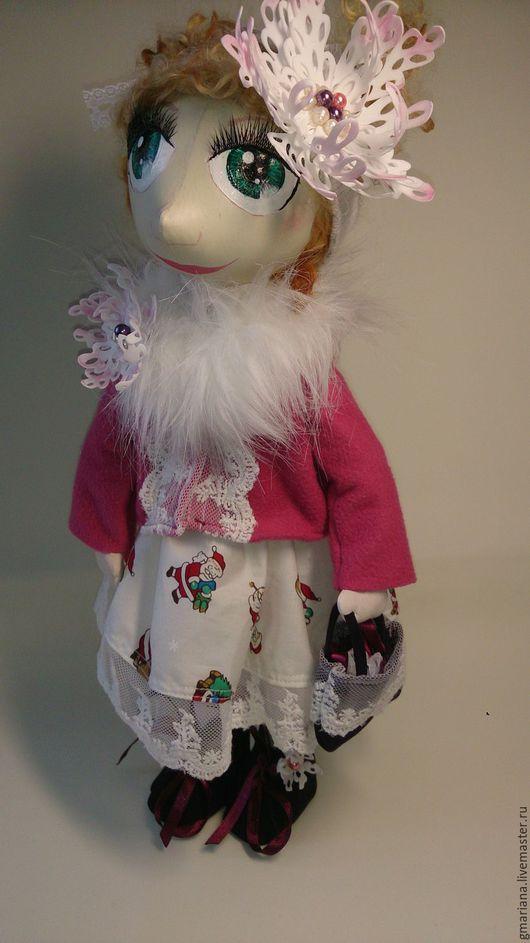 Куклы тыквоголовки ручной работы. Ярмарка Мастеров - ручная работа. Купить Текстильная кукла Римма. Handmade. Разноцветный, интерьерная кукла