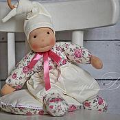 Куклы и игрушки ручной работы. Ярмарка Мастеров - ручная работа Розочка Шебби-шик - кукла вальдорфская учной работы для девочки. Handmade.