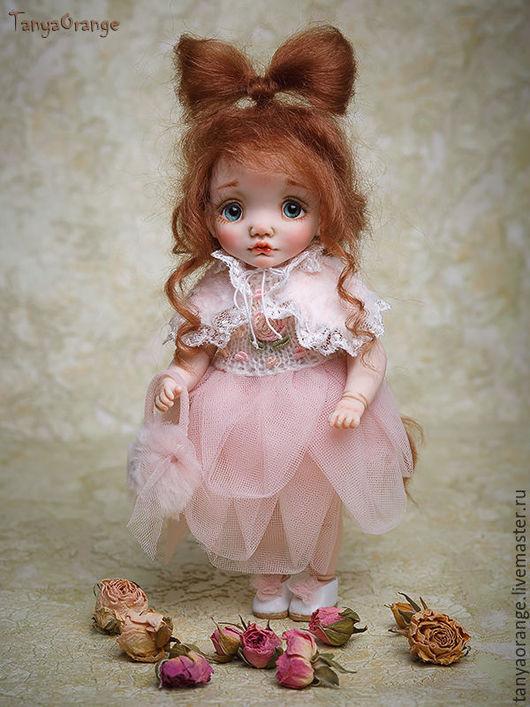 Коллекционные куклы ручной работы. Ярмарка Мастеров - ручная работа. Купить Стефани ростик 18см. Handmade. Малышка, миниатюра