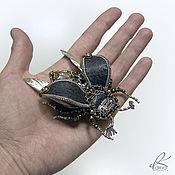 """Украшения ручной работы. Ярмарка Мастеров - ручная работа Брошь """"Майский жук"""". Handmade."""
