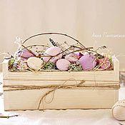 Сувениры и подарки handmade. Livemaster - original item Easter Souvenirs: eggs in a box. Handmade.