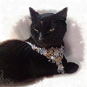 Украшения handmade. Livemaster - original item Necklace pendant brooch transformer snow Queen. transparent crystal. Handmade.