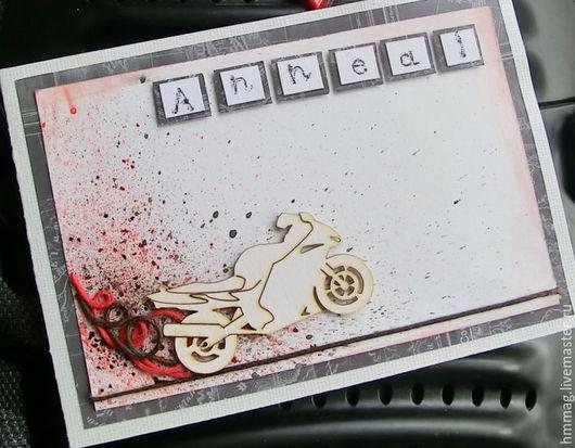 Мото открытка.