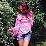 Одежда ручной работы. Ярмарка Мастеров - ручная работа Кофта розовая. Handmade.