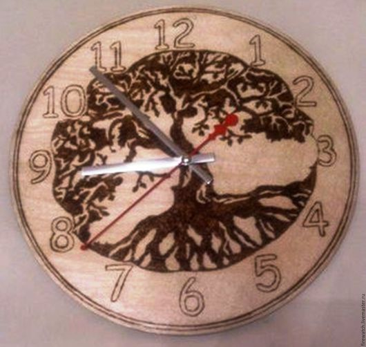 Часы настенные `Древо Жизни`