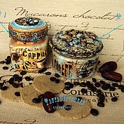 Jars handmade. Livemaster - original item Banks for kitchen of coffee different: COFFEE and TURQUOISE, ESPRESSO, COFFEE, LATTE. Handmade.