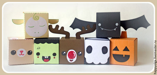 коробочки персонажи
