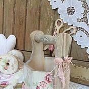 """Для дома и интерьера ручной работы. Ярмарка Мастеров - ручная работа Корзинка""""В мятно- розовых тонах"""". Handmade."""