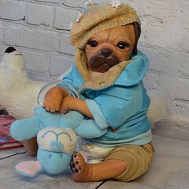 Куклы и игрушки ручной работы. Ярмарка Мастеров - ручная работа Реборн мопс Princessa,Denise Pratt.. Handmade.