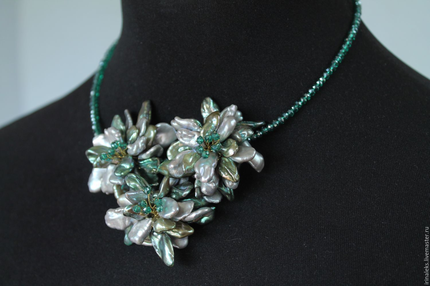 Necklace 'Magic bouquet', Necklace, Nizhny Novgorod,  Фото №1