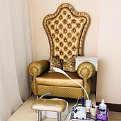 Для дома и интерьера handmade. Livemaster - original item The tron armchair for pedicure kit. Handmade.