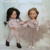 Одежда для кукол ручной работы. Ярмарка Мастеров - ручная работа Одежда для кукол: Костюм трикотажный для кукол. Handmade.