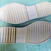 Материалы для творчества handmade. Livemaster - original item soles: Sole women`s. Handmade.