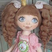 Куклы и игрушки ручной работы. Ярмарка Мастеров - ручная работа Кукла ПРИНЦЕССА с медведем. Handmade.
