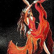 Канцелярские товары ручной работы. Ярмарка Мастеров - ручная работа Обложка на паспорт СТРАСТЬ. Handmade.