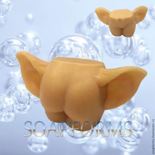 Силиконовая форма для мыла и свечей `Тело с ушами` 3D