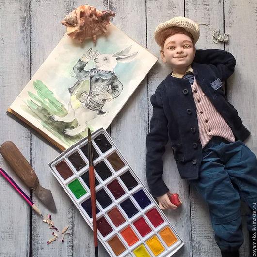 Коллекционные куклы ручной работы. Ярмарка Мастеров - ручная работа. Купить Artur Braun. Авторская коллекционная уникальная реалистичная кукла. Handmade.