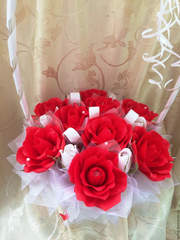 Розы в подарок на свадьбу 21