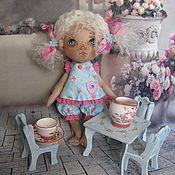 """Куклы и игрушки ручной работы. Ярмарка Мастеров - ручная работа Текстильная кукла- малышка """"Даша"""". Handmade."""