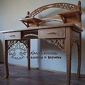 Для дома и интерьера ручной работы. Ярмарка Мастеров - ручная работа Стол-секретер из бука Хмель. Handmade.