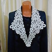 Аксессуары handmade. Livemaster - original item Collar lace No. №1. Handmade.