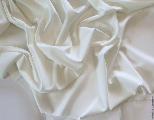 Шитье ручной работы. Ярмарка Мастеров - ручная работа. Купить Итальянская костюмная ткань. Handmade. Белый, вискозная костюмка
