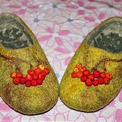Обувь ручной работы. Ярмарка Мастеров - ручная работа Ветка рябины. Handmade.