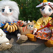 Куклы и игрушки ручной работы. Ярмарка Мастеров - ручная работа хранители семейного очага, домовые. Handmade.