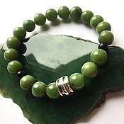 Украшения handmade. Livemaster - original item Bracelet made of natural jade (jade bracelet). Handmade.