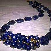 Украшения handmade. Livemaster - original item Necklace of Lapis Lazuli