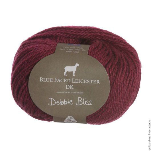 Вязание ручной работы. Ярмарка Мастеров - ручная работа. Купить Пряжа Debbie Bliss Blue Faced Leicester DK, 50 г. Handmade.