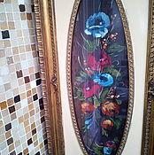 Винтаж ручной работы. Ярмарка Мастеров - ручная работа Вертикальная картина   винтаж, Италия. Handmade.