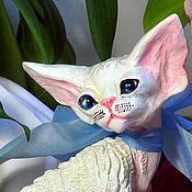 Подарки к праздникам handmade. Livemaster - original item Alicia. Cat Devon Rex.. Handmade.