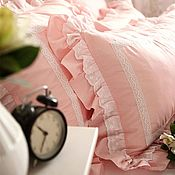 Для дома и интерьера handmade. Livemaster - original item Wedding.Gift.Bed linen. Handmade.