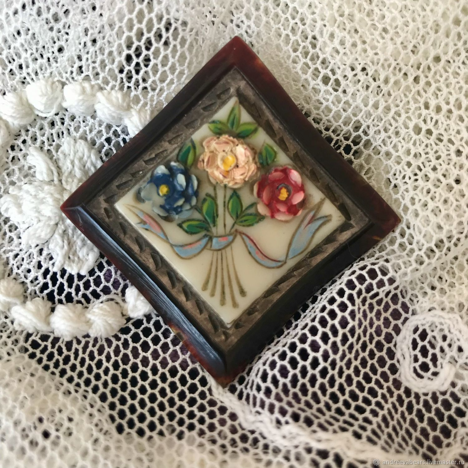 Brooch Vintage, Vintage brooches, Moscow,  Фото №1