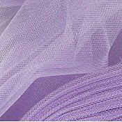 Материалы для творчества ручной работы. Ярмарка Мастеров - ручная работа фатин сиреневый светлый. Handmade.