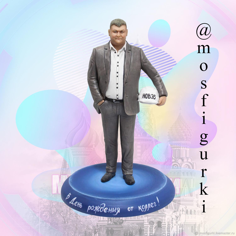 Успешный руководитель - Статуэтка по фотографии, Статуэтки, Москва,  Фото №1
