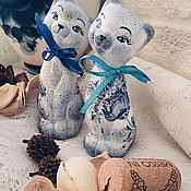 Для дома и интерьера handmade. Livemaster - original item Sweet couple (ceramics). Handmade.