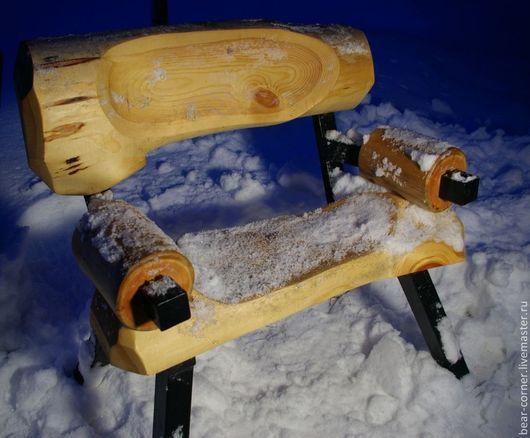 Экстерьер и дача ручной работы. Ярмарка Мастеров - ручная работа. Купить скамейка. Handmade. Мебель ручной работы, своими руками