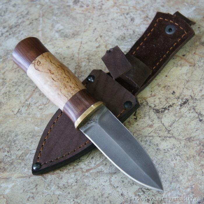 Knife 'Highlander-1m' h12mf Karelian birch nut, Knives, Vorsma,  Фото №1