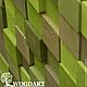 Абстракция ручной работы. Панно мозаика из дерева (120х200). Woodartshop. Интернет-магазин Ярмарка Мастеров. Панно настенное, Декор, лес