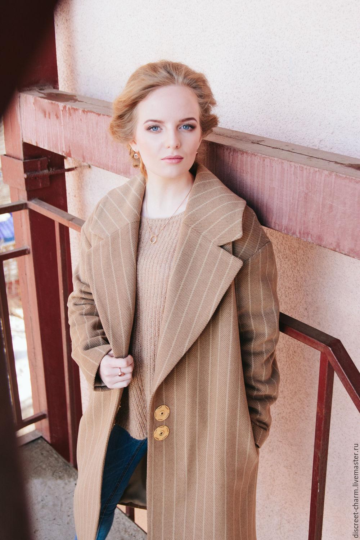 Как сшить шерстяное пальто в